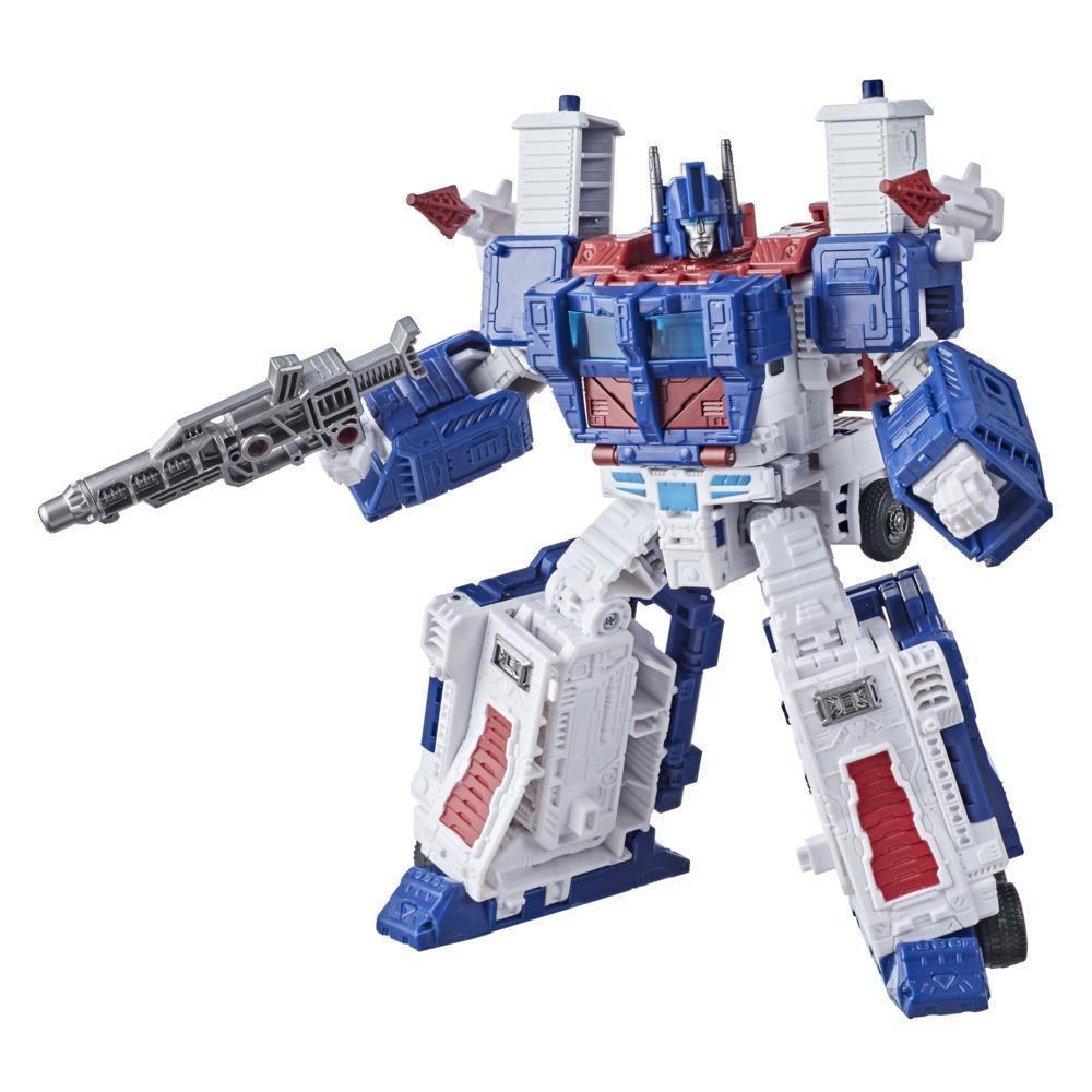 Transformers - Generations Kingdom - Leader Ultra Magnus Earth (F0700)