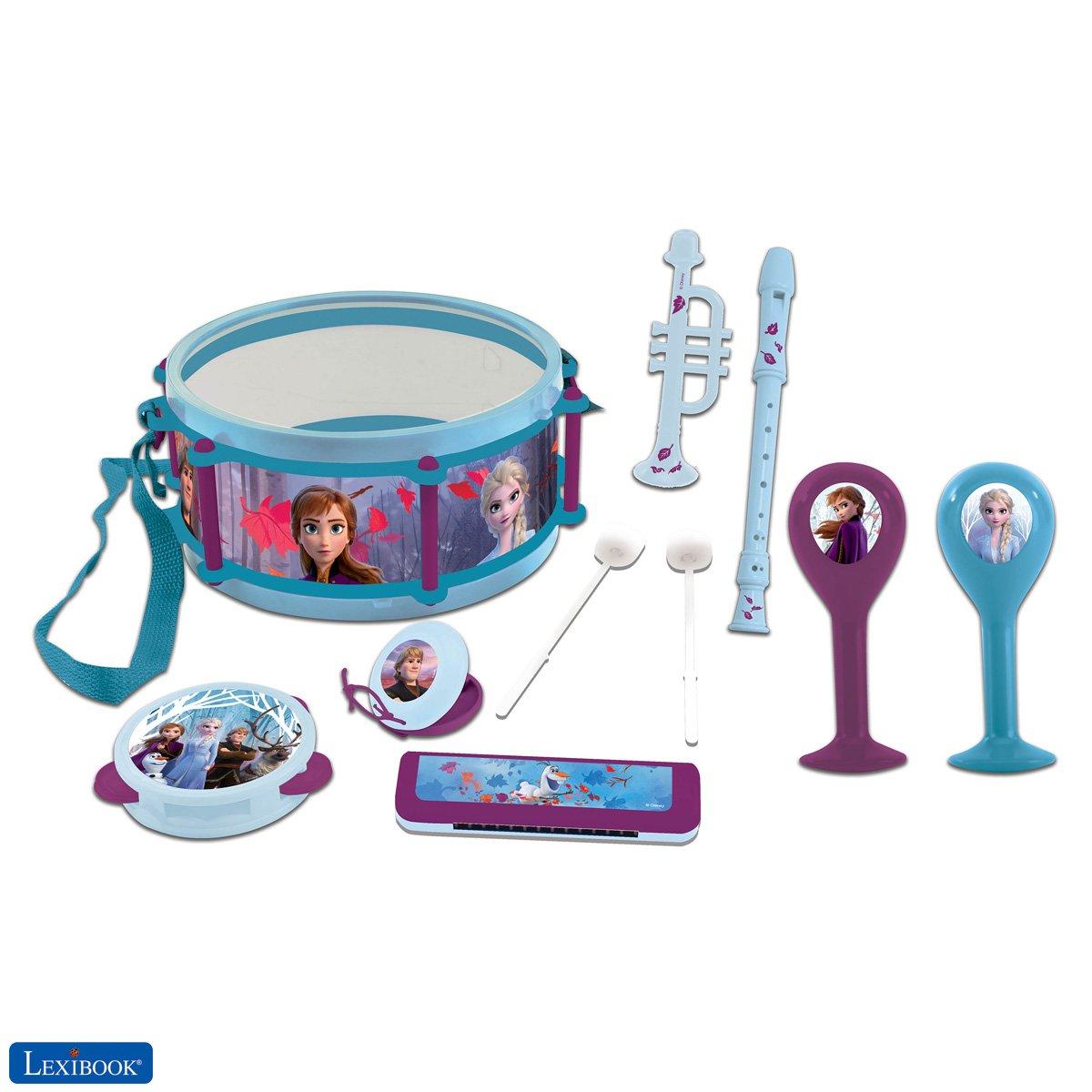 Lexibook - Disney Frozen Musical Set 7pcs (K360FZ)