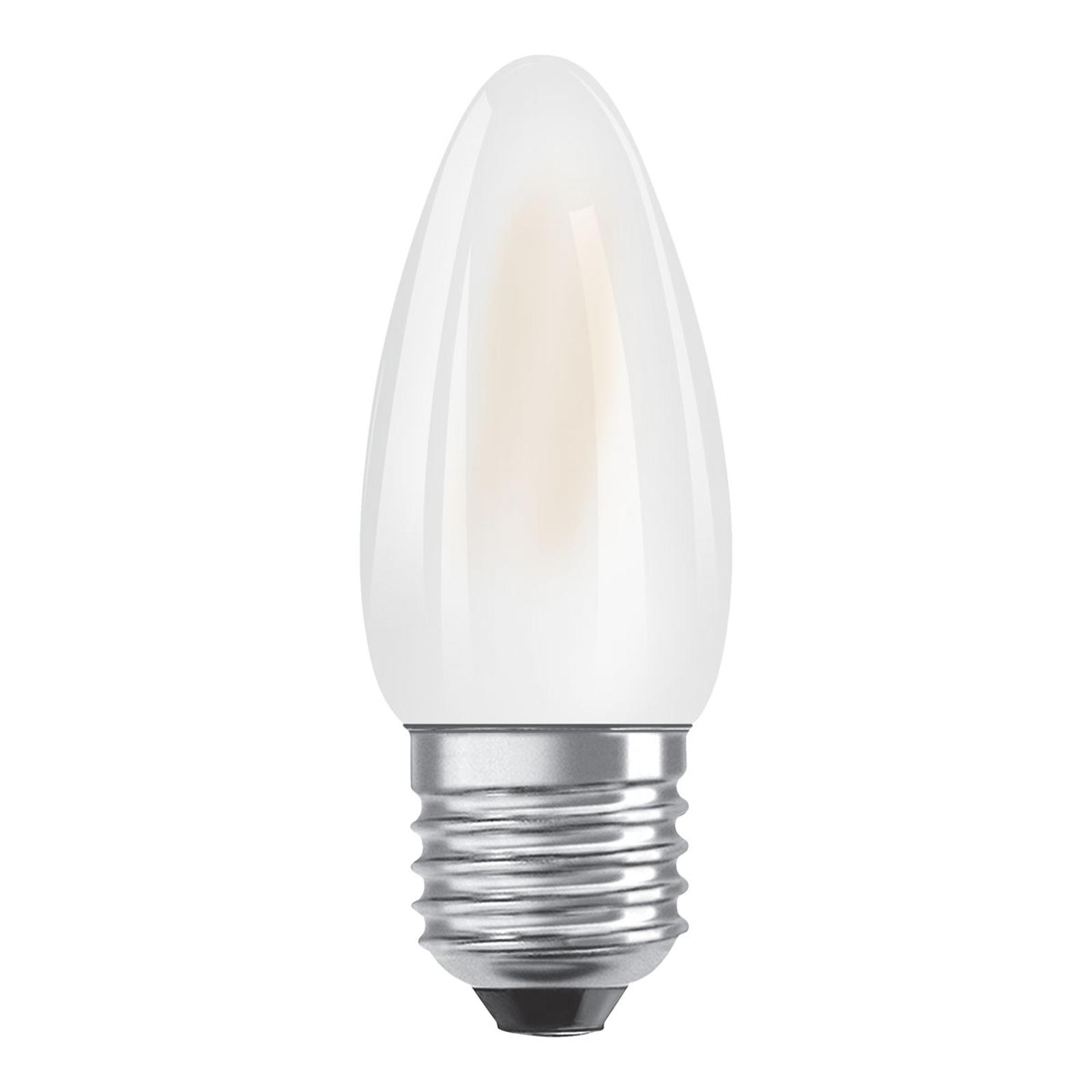 OSRAM-LED-kynttilälamppu E27 Superstar 5W 2 700 K