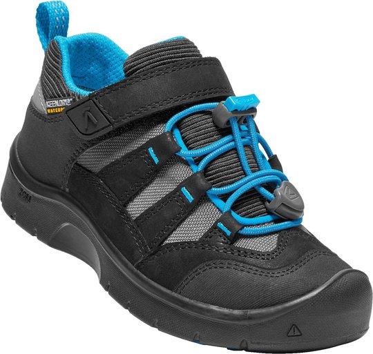 KEEN Hikeport WP Sko, Black/Blue Jewel 27-28