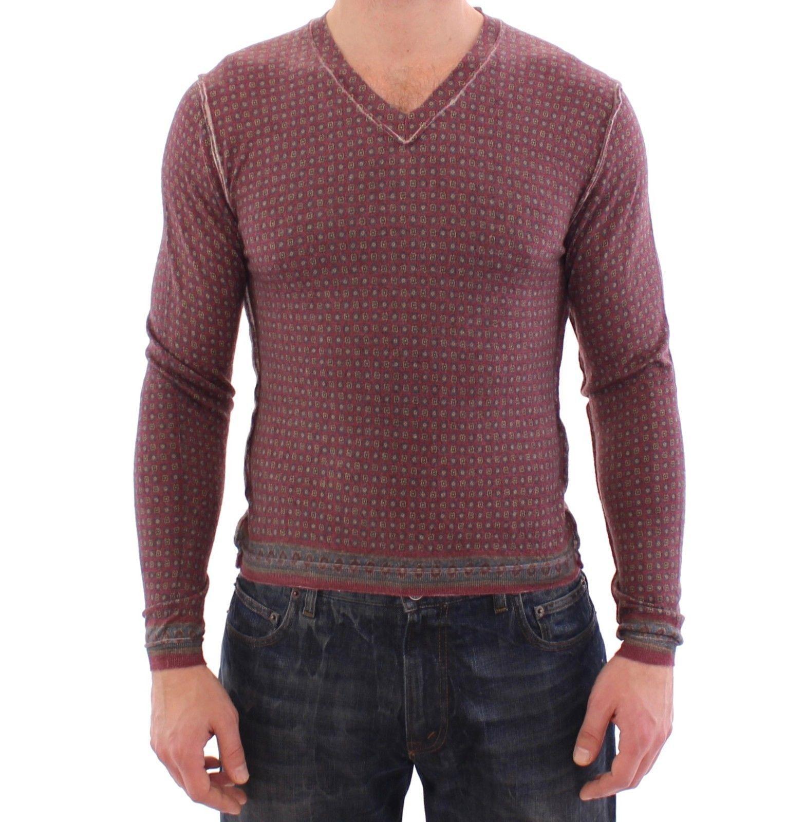 Dolce & Gabbana Men's Cashmere Sweater Pullover Multicolor GSS15153 - IT44   XS