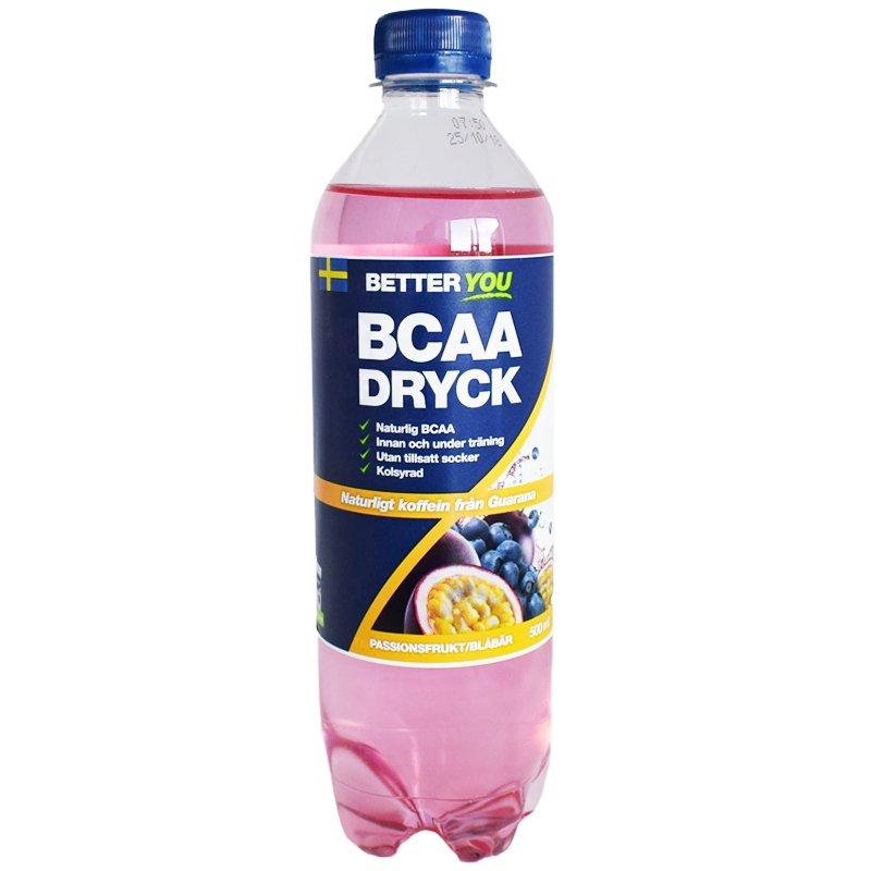 Dryck BCAA Passionsfrukt & Blåbär 500ml - 59% rabatt