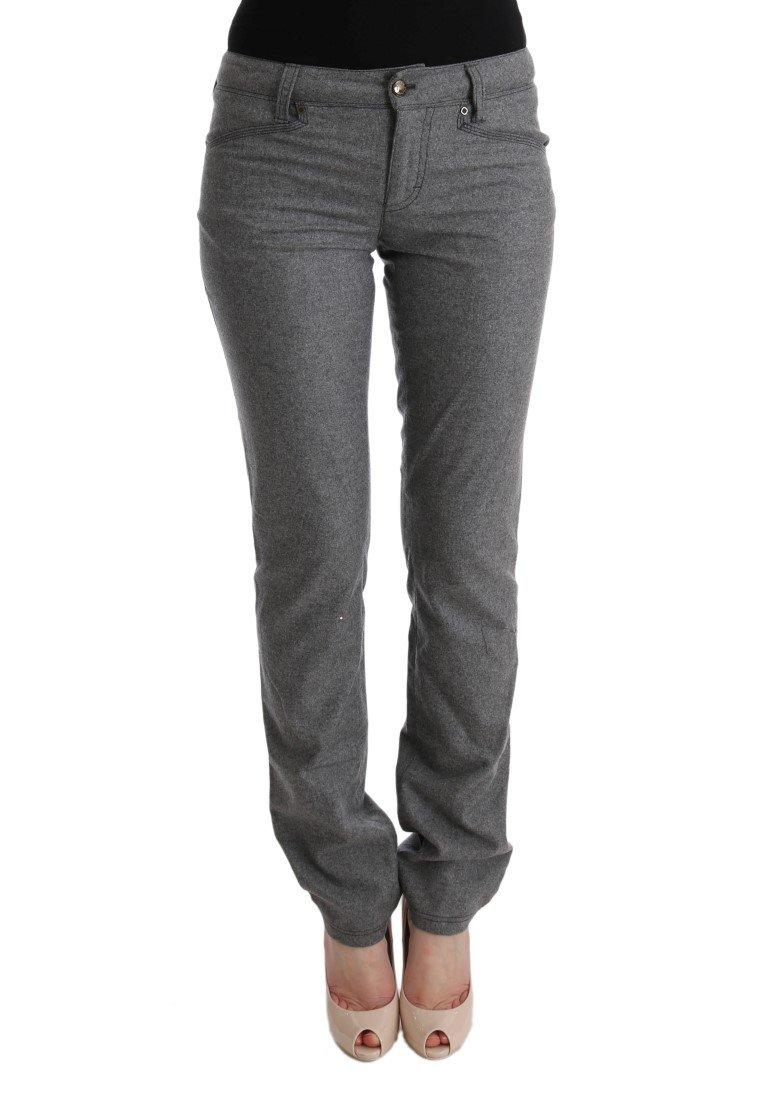 Ermanno Scervino Women's Skinny Fit Jeans Grey SIG30345 - IT42|M