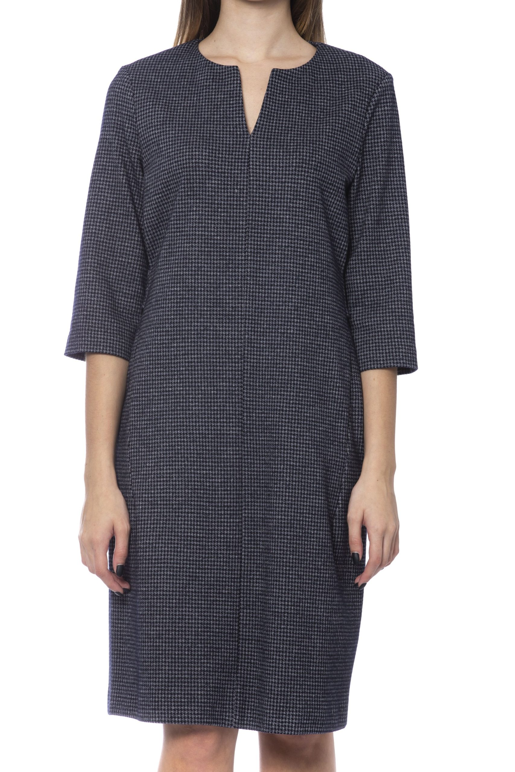 Peserico Women's Dress Blue PE993380 - IT42   S