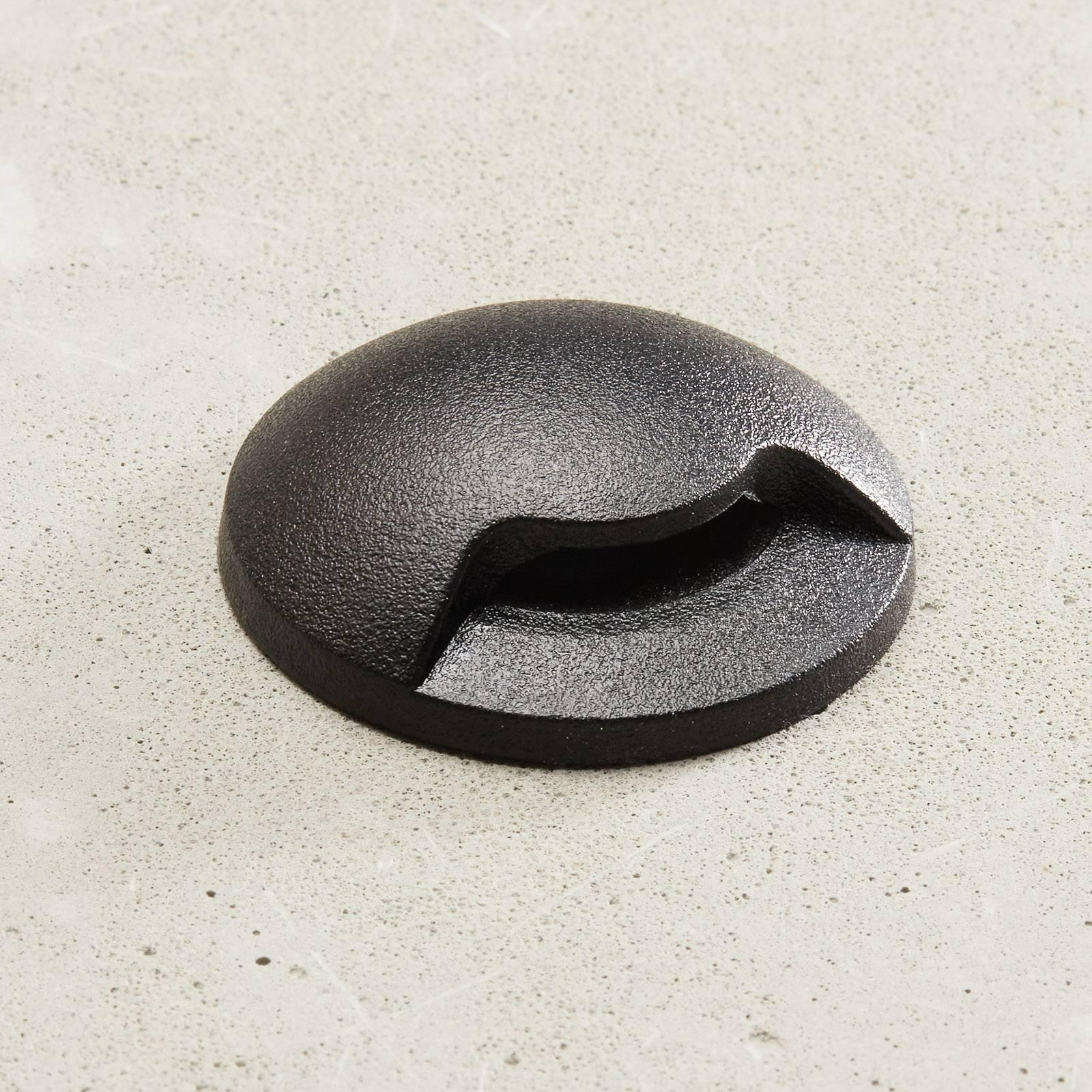 LED-uppovalaisin Aldo 1L musta/kirkas 3 000 K