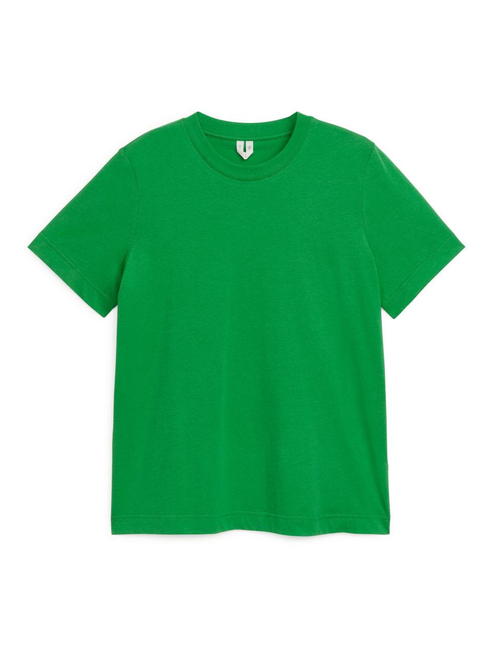 Crew-Neck T-shirt - Green