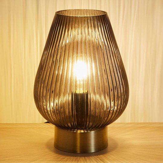 Pauleen Crystal Gloom bordlampe av glass