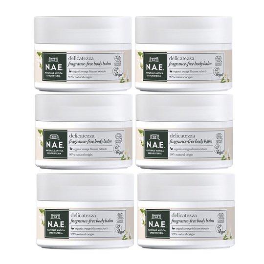 Body Balm Delicatezza Parfymfri 6-pack - 83% rabatt