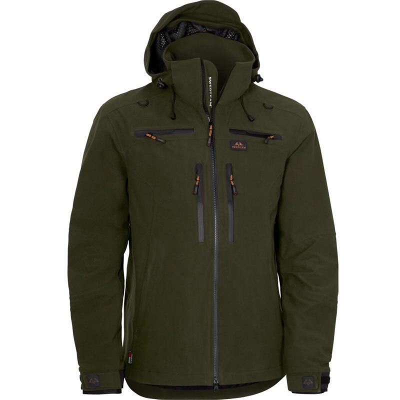 Swedteam Ridge Pro M Jacket Green 48 Forest green jaktjakke