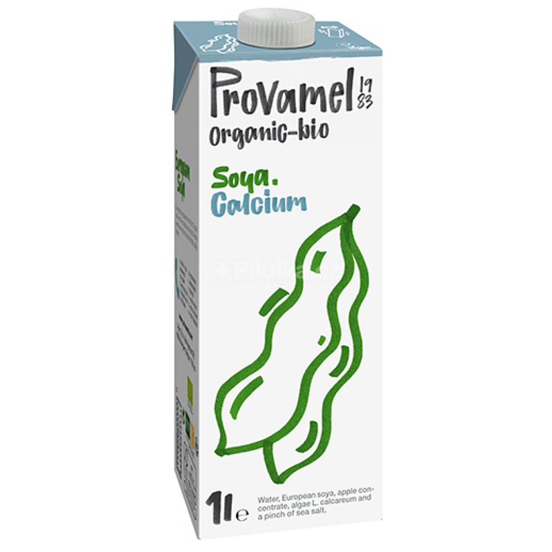 Sojadryck Kalcium - 24% rabatt