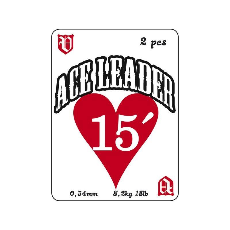 Vision Ace Leader 15' 0,34mm. 2pk