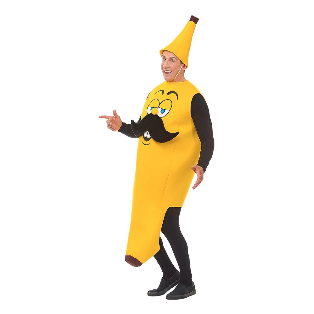 Mr Banana Maskeraddräkt - One size