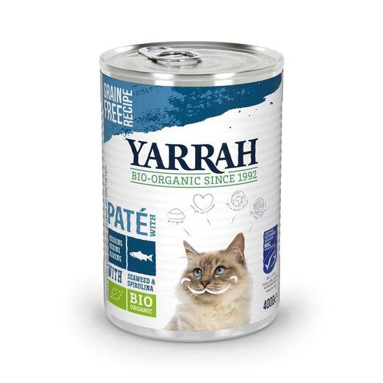 Yarrah Organic Cat Fish Paté 400 g