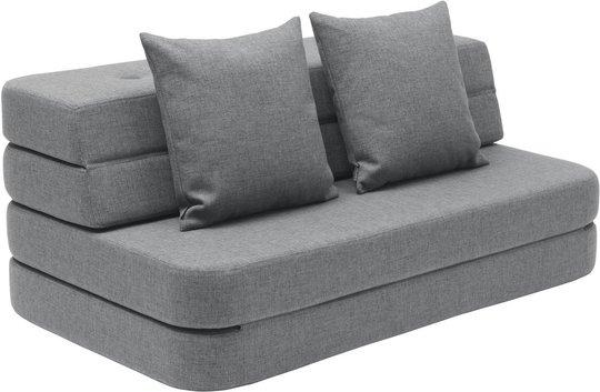 KlipKlap 3 Fold Sofa, Mørkegrå