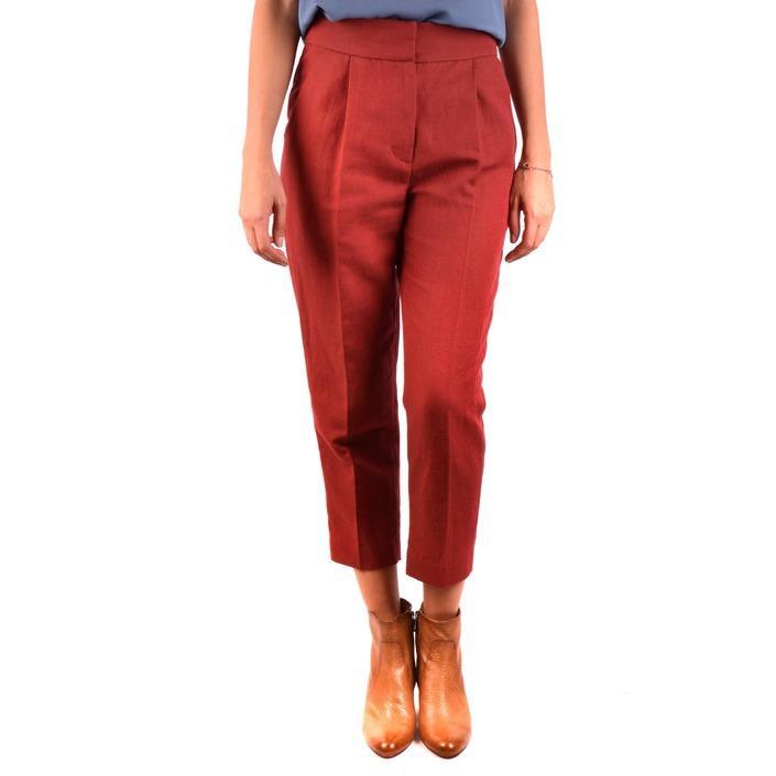 Brunello Cucinelli Women's Trouser Red 163959 - red 42