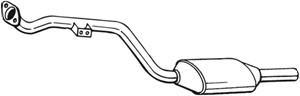 Katalysaattori, Edessä, MERCEDES-BENZ, 2024902320, 2024902520, 2024906719, 2104901019, 2104901020, 2104905519