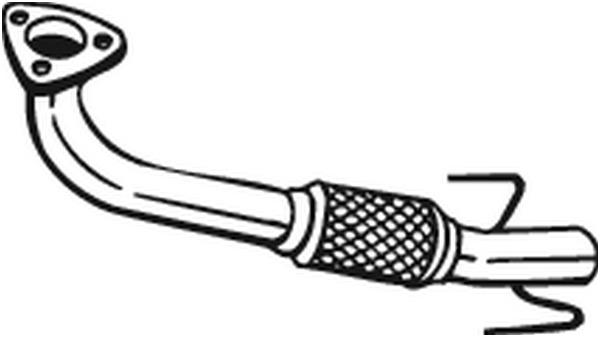 Pakoputki BOSAL 750-071