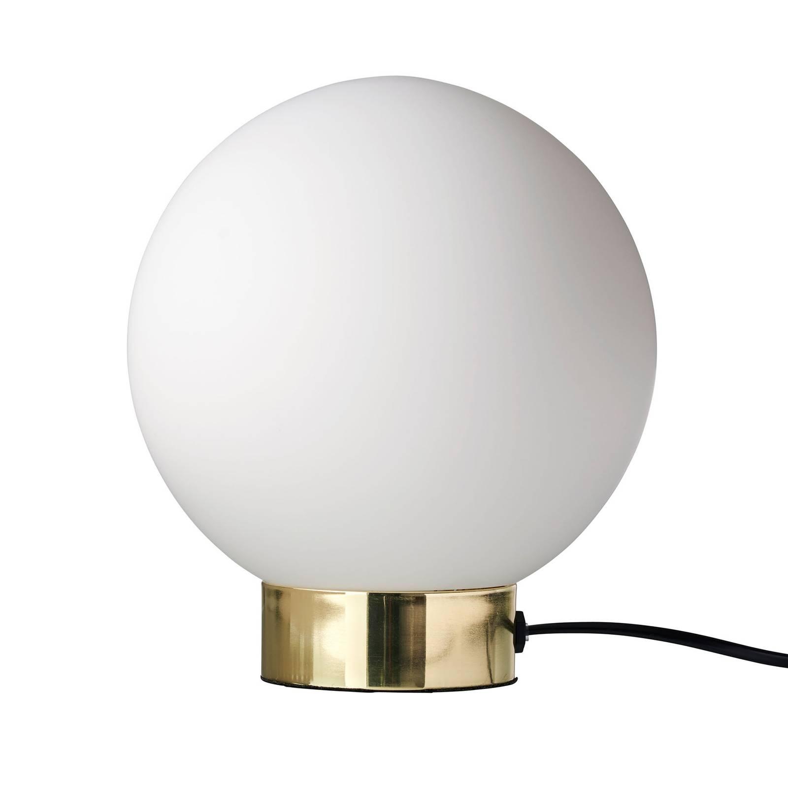 Dyberg Larsen Barcelona-pöytälamppu, lasivarjostin