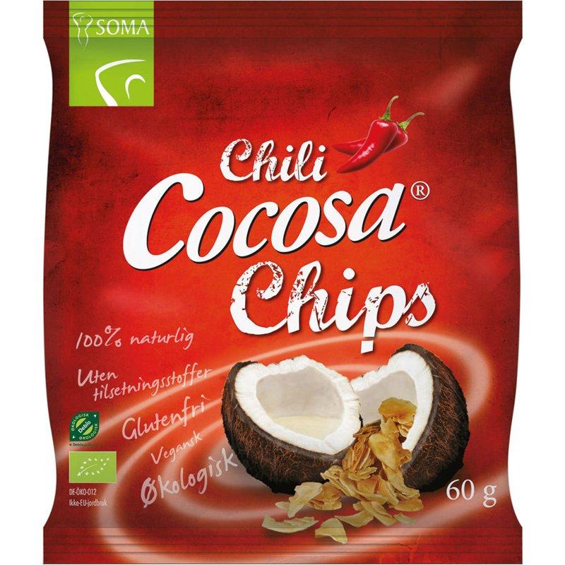 Kookoslastut, Chili 60g - 75% alennus