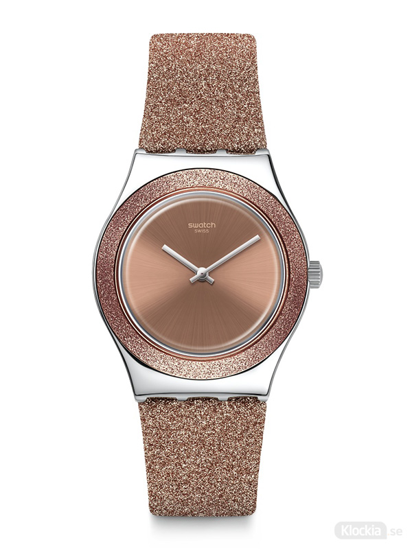 SWATCH Rose Sparkle YLS220