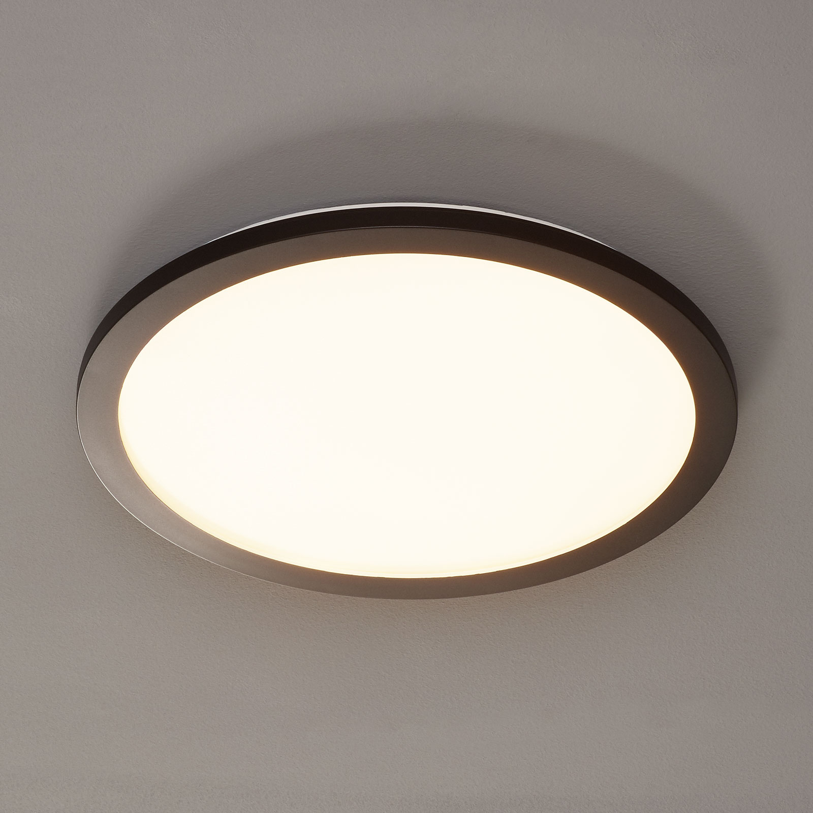 LED-kattolamppu Camillus, pyöreä, Ø 40 cm