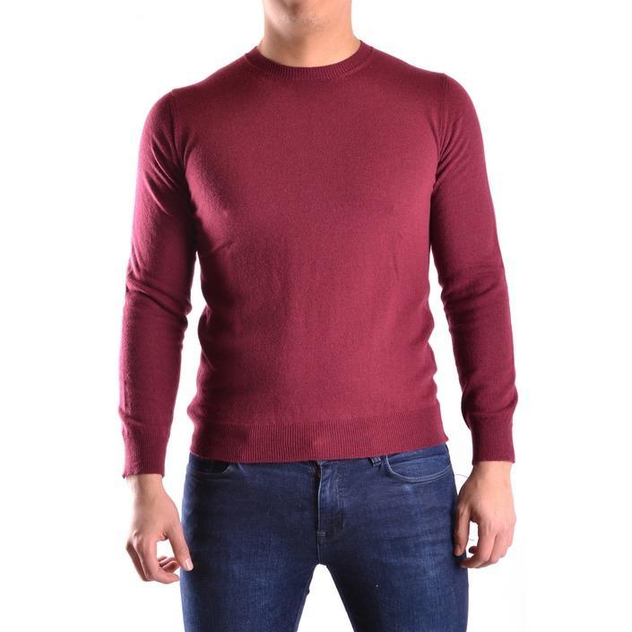 Daniele Alessandrini Men's Sweater Bordeaux 163099 - bordeaux 48
