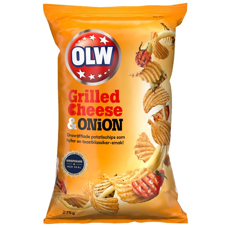 Chips Grilled Cheese & Onion - 13% rabatt