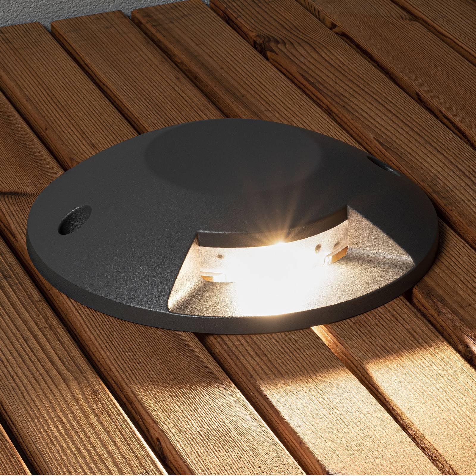 LED-lattiauppovalaisin 7880-370, 1-lamppuinen