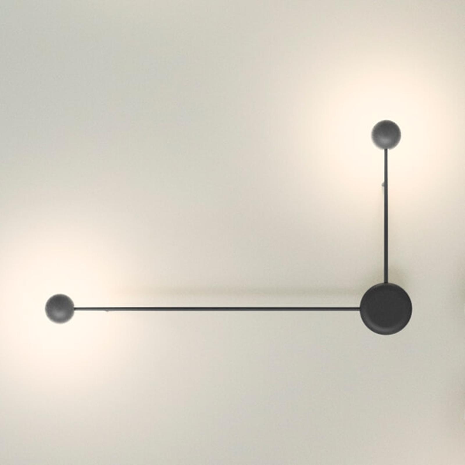 Kaksilamppuinen LED-seinävalaisin Pin