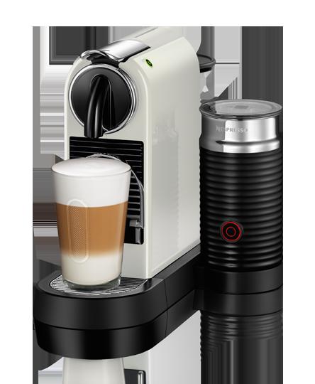 Nespresso Citiz & Milk White Kapselmaskin - Vit