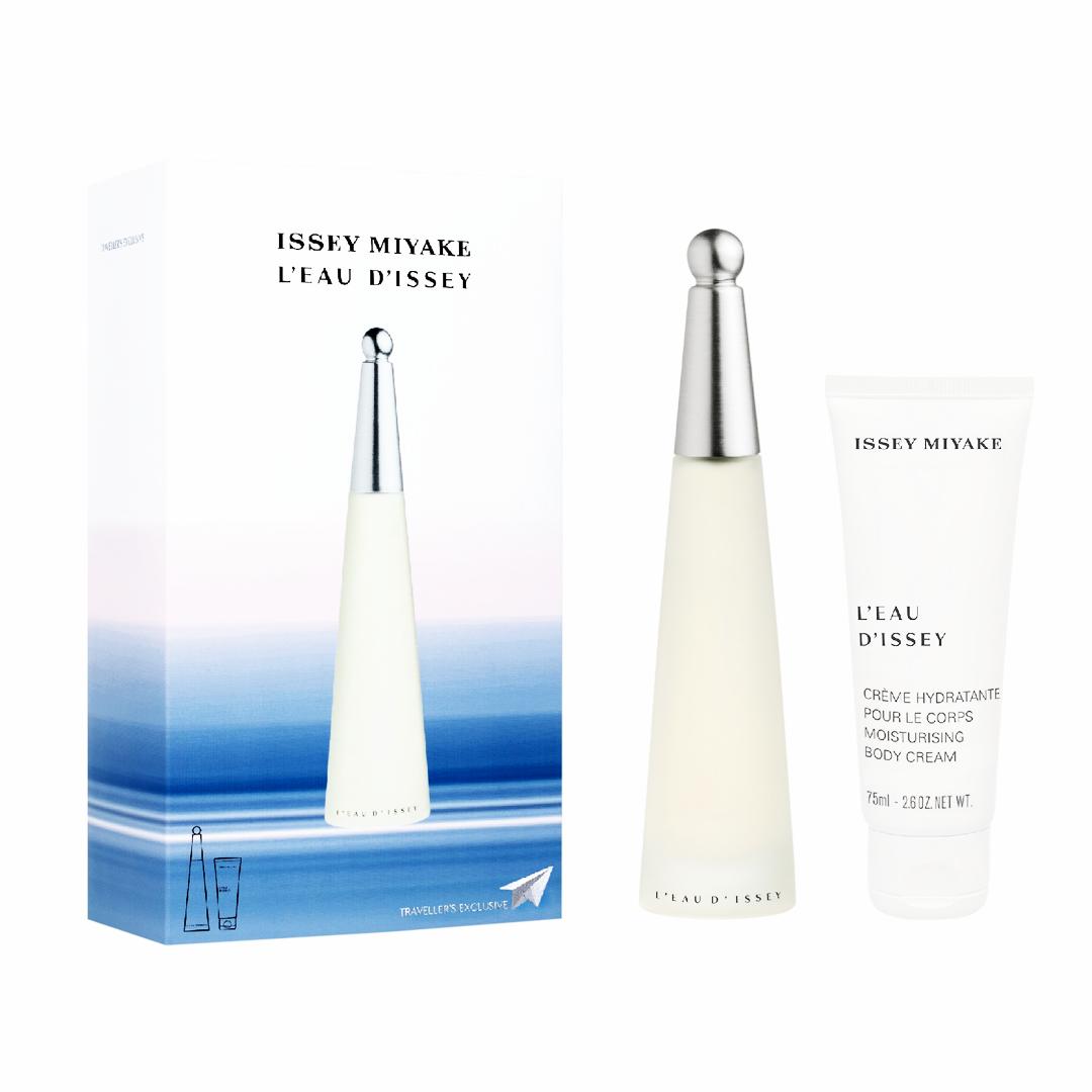 Issey Miyake - L'eau D'issey for Women EDT 100 ml + Moisturising Body Lotion 75 ml - Giftset
