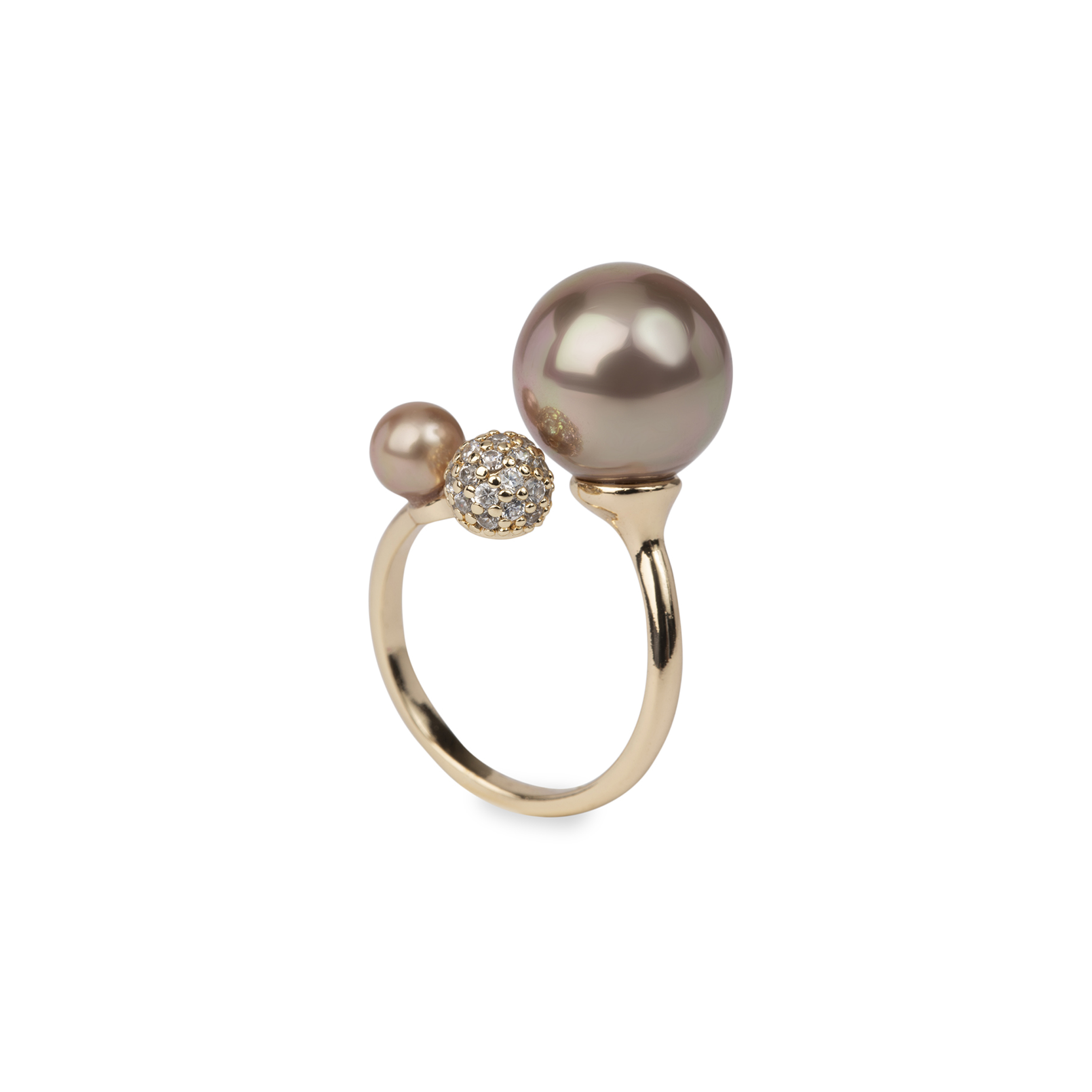 Damsmycke pfg Stockholm Pearls for Girls-Becka Ring - One size 60011-18