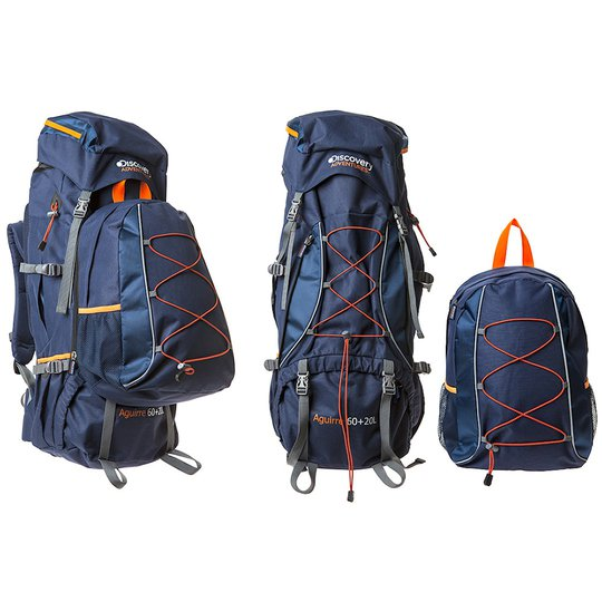 Discovery Adventures Aguirre ryggsäck 60l + 20l ryggsäck
