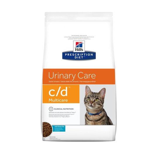 Hill's Prescription Diet Feline c/d Urinary Care Multicare Ocean Fish (1,5 kg)