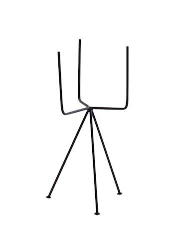 Krukkeholder 16x34 cm - Svart