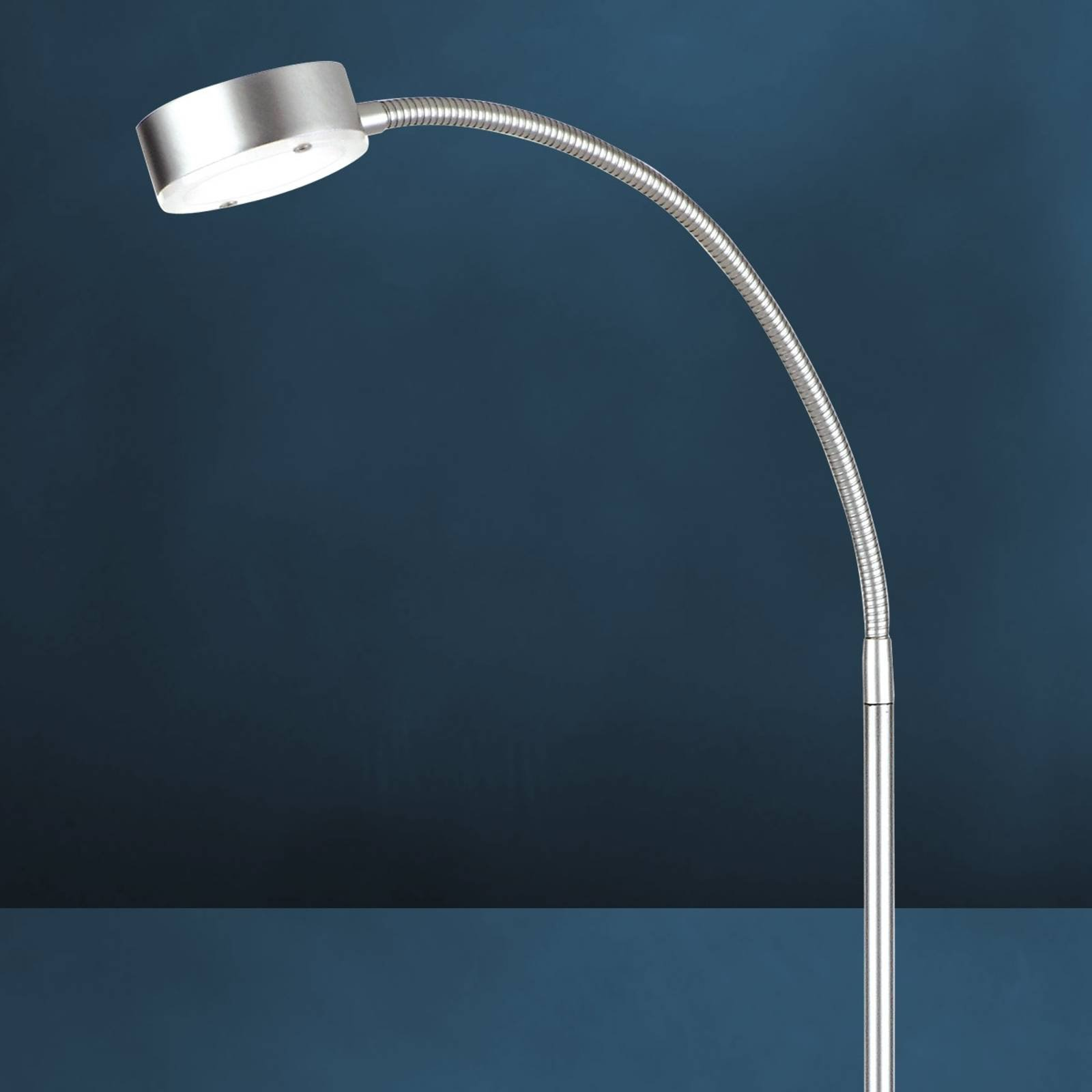 Fleksibel LED-gulvlampe SATURN, 1 lyskilde