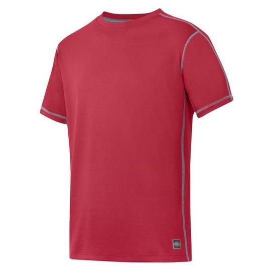 Snickers 2508 T-paita Punainen XS