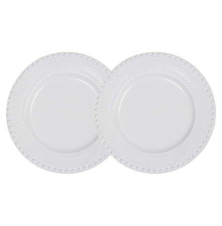 DAISY Middagstallerken White 29 cm 2-pakning