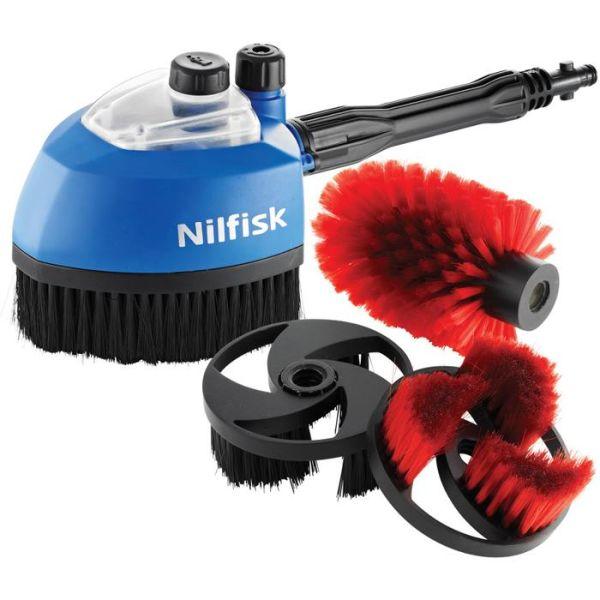 Nilfisk Multi Brush 3-i-1 Kit Børstehode