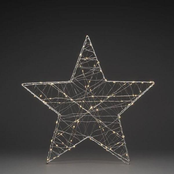 Konstsmide 1793-333 Joulutähti metalli – 60 cm