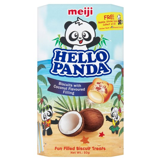 Hello Panda Coconut 50g