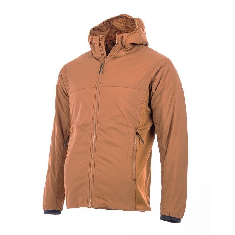 MoveOn Alta Isolight herrejakke S Vannavstøtende vindtett jakke i Rust