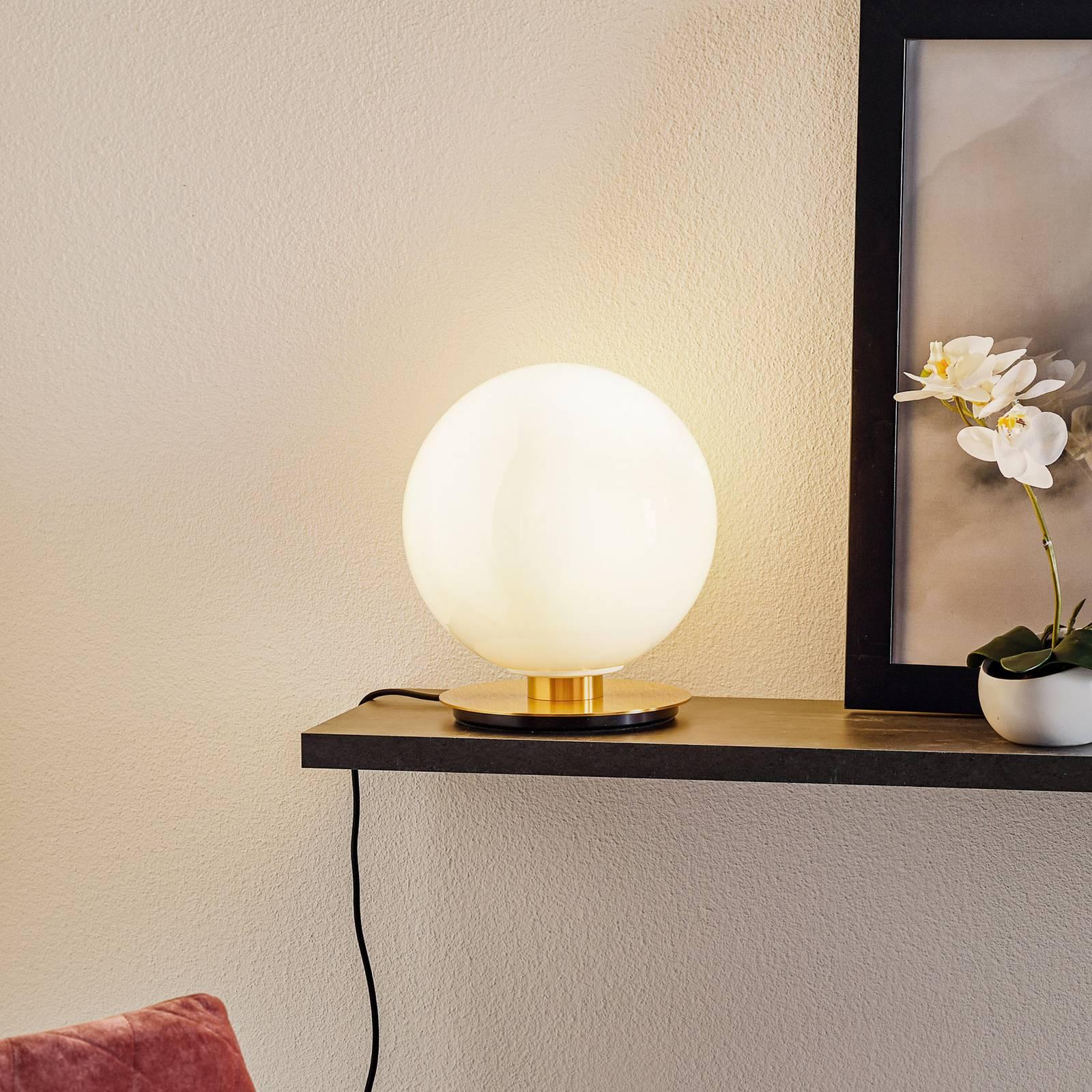 Menu TR Bulb pöytälamppu 22 cm messinki/kiilto