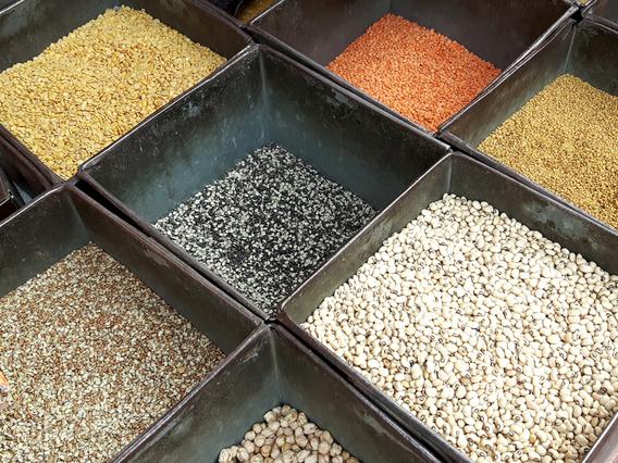 Industrial Metal Storage Bin Medium