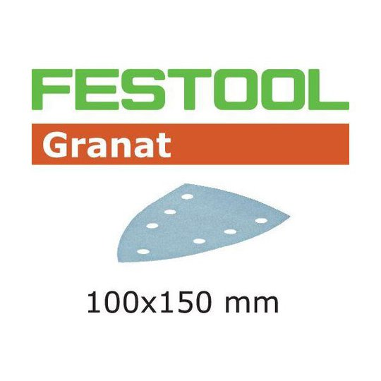 Festool STF GR DELTA Hiomapaperi 7-reikäinen, 10 kpl P120
