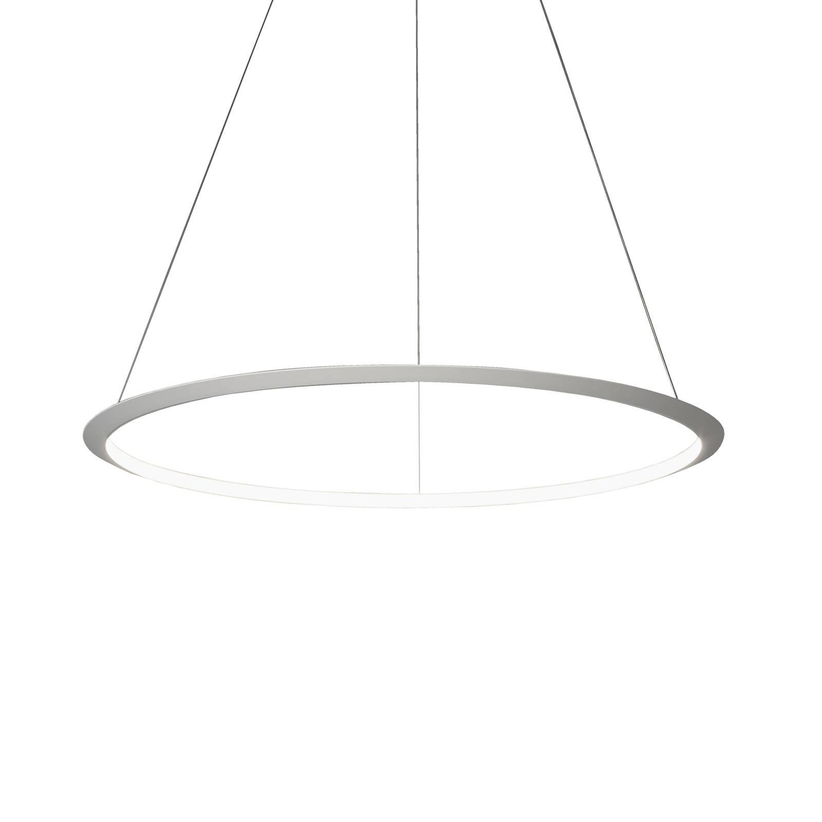 Grok Circular -LED-riippuvalaisin Ø 200cm 930 DALI