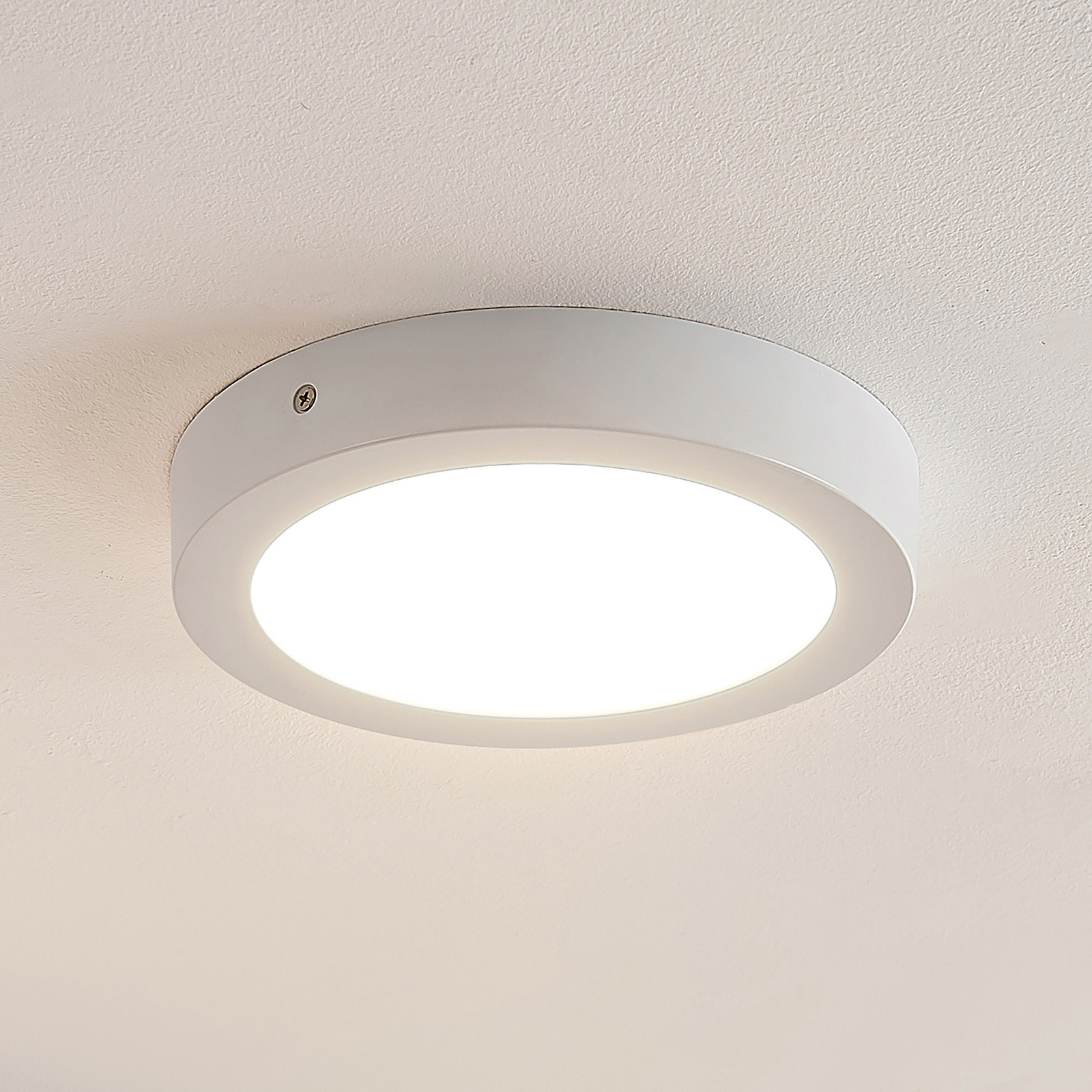 ELC Merina LED-kattovalaisin, valkoinen, 21,5 cm
