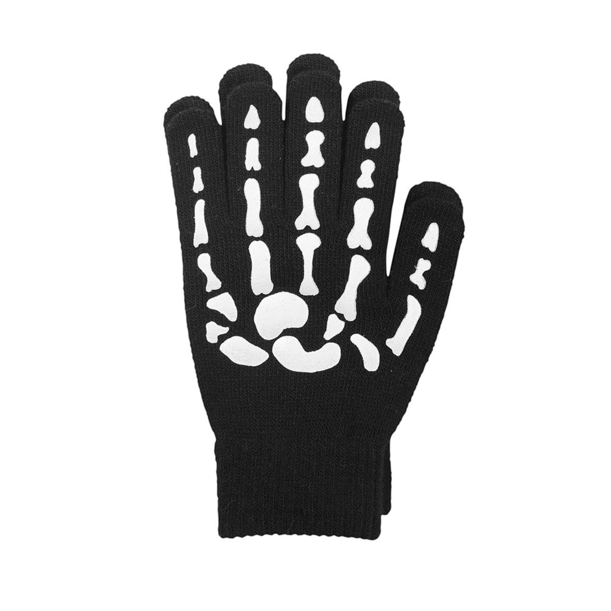 Fingervante Skelett