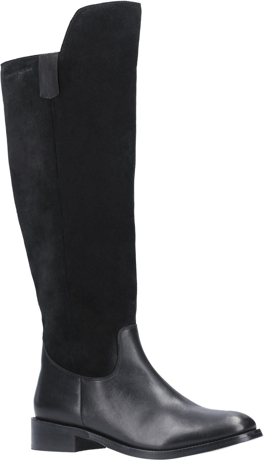 Hush Puppies Women's Alani Zip Up Long Boot Various Colours 29198 - Black 3