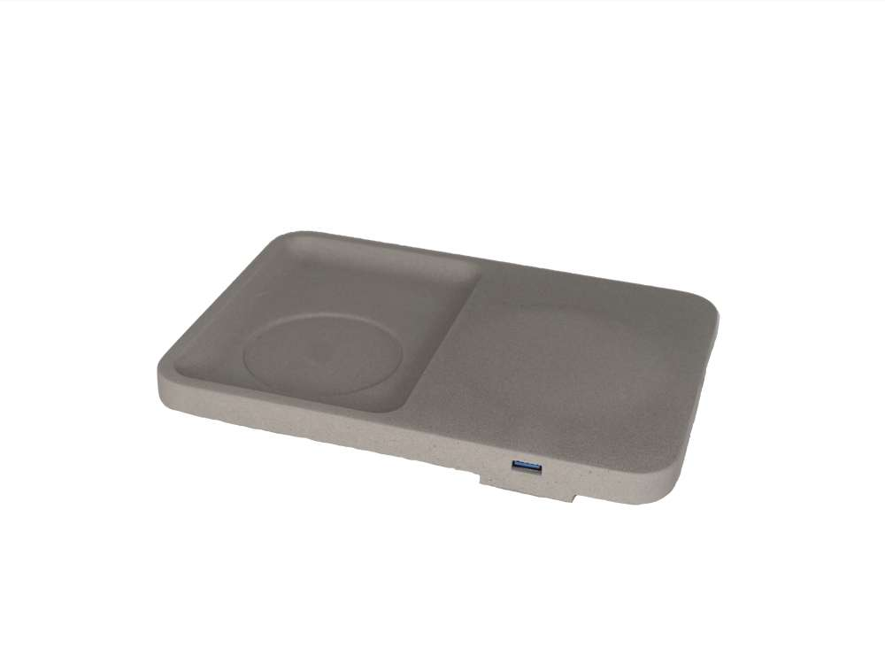 LIKEconcrete - Karin Wireless Charger - Grey (93778)
